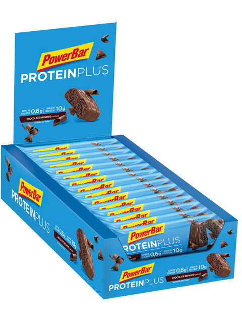 PowerBar ProteinPlus - Nutrition sport - Chocolate Brownie 30 x 35g